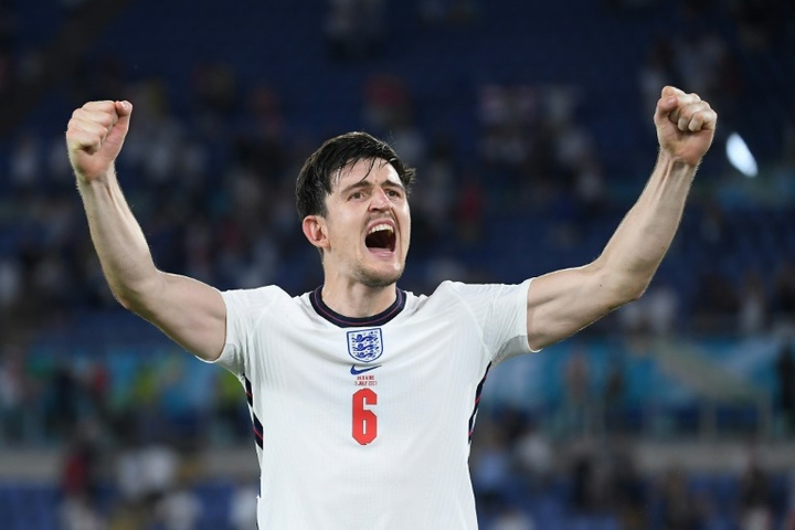 Harry Maguire spoke ahead of the big final. AFP