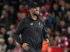 Klopp was delighted with the result. AFP