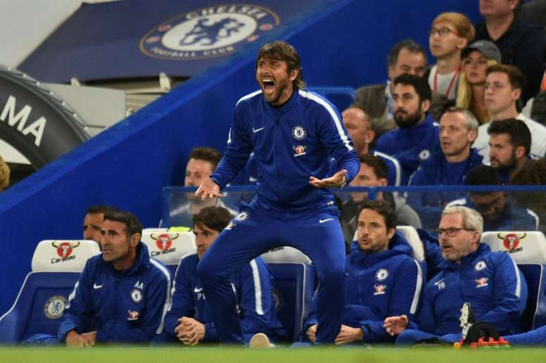 Conte's future has been a talking point. AFP