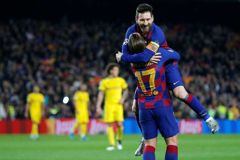 Les compos probables du match de Ligue des champions entre le Barça et Ferencvaros. AFP