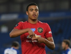 Solskjaer says 'sky's the limit' for Greenwood. AFP
