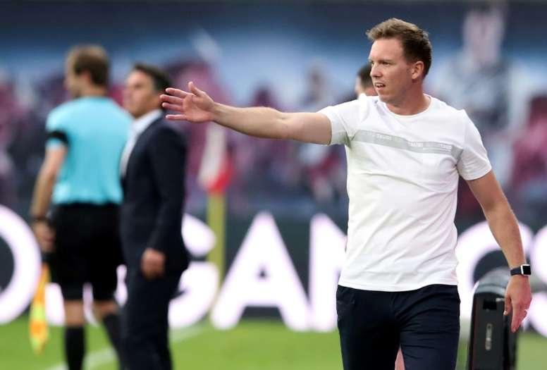 Julian Nagelsmann turned down Real Madrid in 2018. AFP