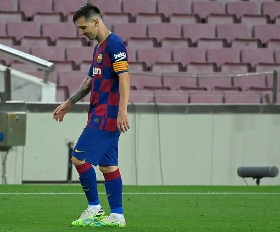 Barça's troubles go from bad to worse: tension with Messi. AFP