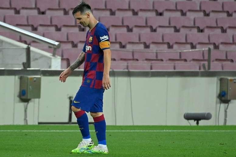 Messi songe à quitter le Barça à la fin de son contrat ! AFP