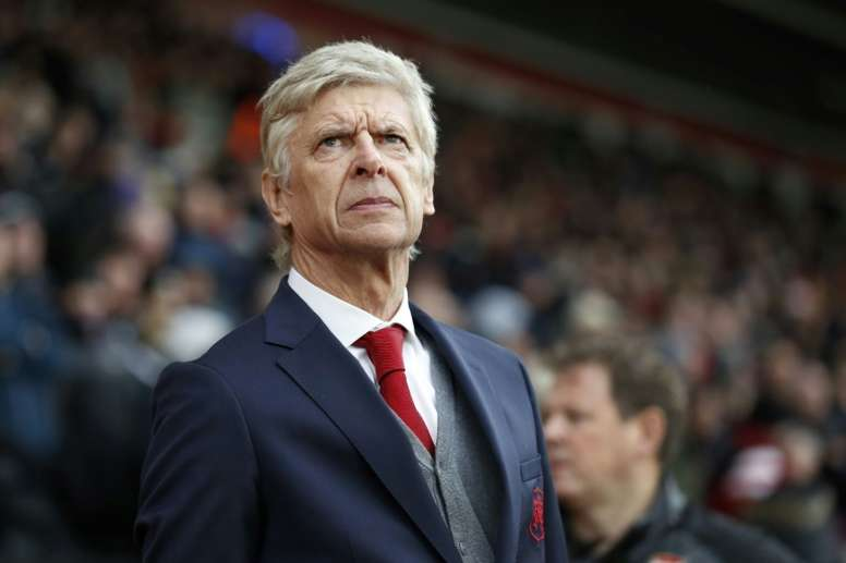 Wenger could have Alexandre Lacazette to call upon on Saturday. AFP