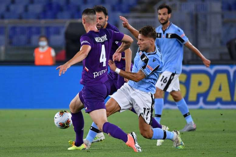 Immobile, Alberto cut Lazio gap to Juventus back to four points. AFP