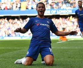 Eden Hazard is well known for attracting tough treatment in the Premier League. AFP