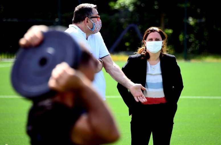 Maracineanu répond aux clubs de Ligue 1. AFP