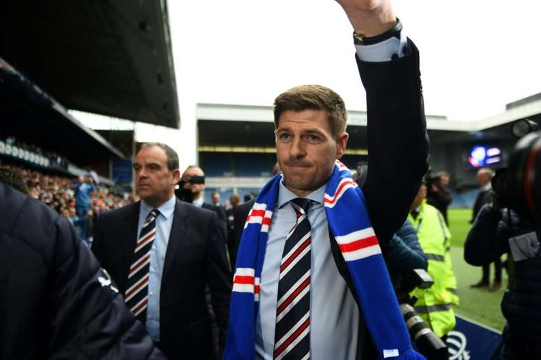 Steven Gerrard revealed that there were questions marks over