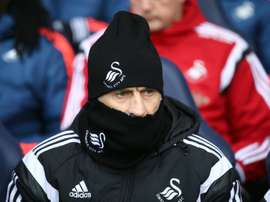 Britton has urged Swansea players to show more respect to Guidolin (pictured). AFP