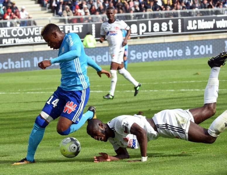 El Olympique de Marsella aún no ha perdido en Amiens.