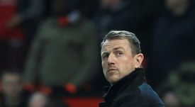 Gary Rowett is preparing a second bid. AFP
