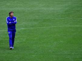 Conte is looking to strengthen his strike force in January. AFP