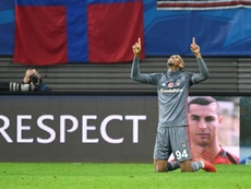 Talisca's late strike ended RB Leipzig's maiden Champions League campaign prematurely. AFP