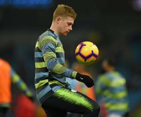 De Bruyne has endured an injury-hit start to the campaign. GOAL