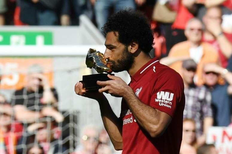 Salah refuse les comparaisons. AFP