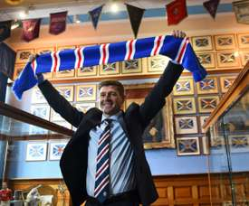 Gerrard had already made a number of signings as Rangers manager. AFP