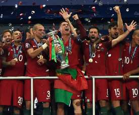 10 of Portugal's European champions won't play at the World Cup. AFP