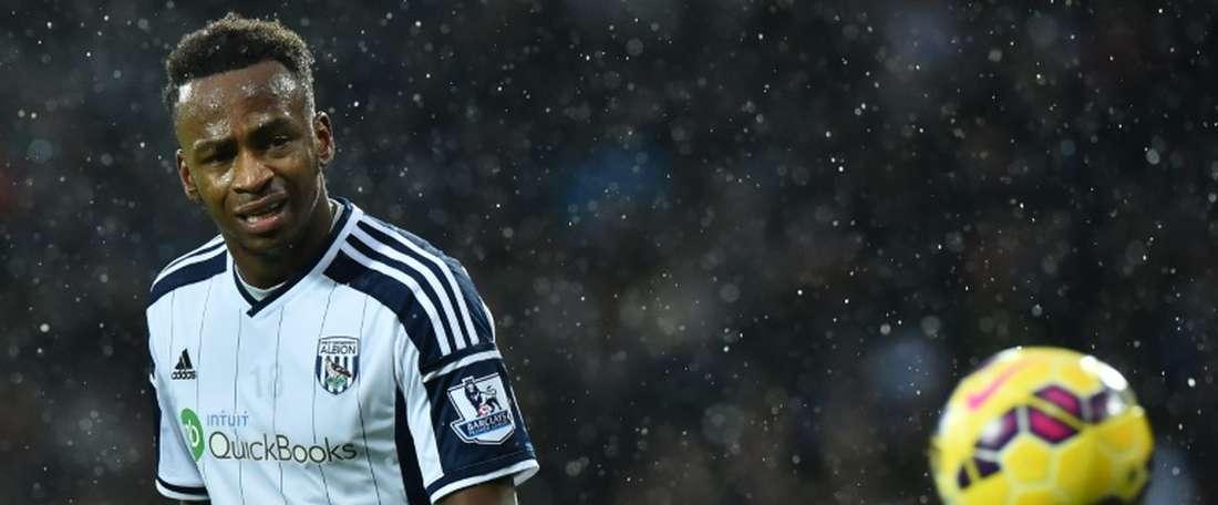 El Tottenham quiere a Berahino para que acompañe a Harry Kane en la punta de ataque. AFP