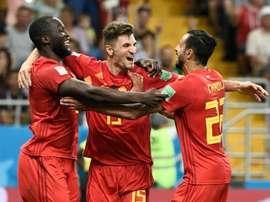 Meunier porta in vantaggio il Belgio. AFP