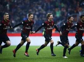 Milan e Crotone conseguem um ponto. AFP