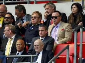 Elton John assure que Watford lui a sauvé la vie. AFP