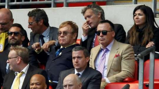 Watford saved me, says rock legend Elton John. AFP