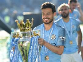 David Silva will have a statue at Man City in 2021. AFP