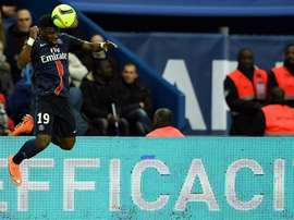 Serge Aurier, in action on April 30, 2016, will not be available for the Ivory Coasts friendly match against Hungary