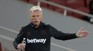 El West Ham saca el martillo; West Bromwich y Watford, eliminados. AFP