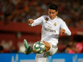 James se desconectou do Real Madrid. AFP