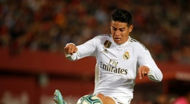 A inter quer convencer James Rodriguez. AFP