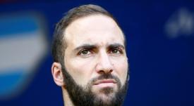 Higuaín fala sobre Lautaro no Barça. AFP