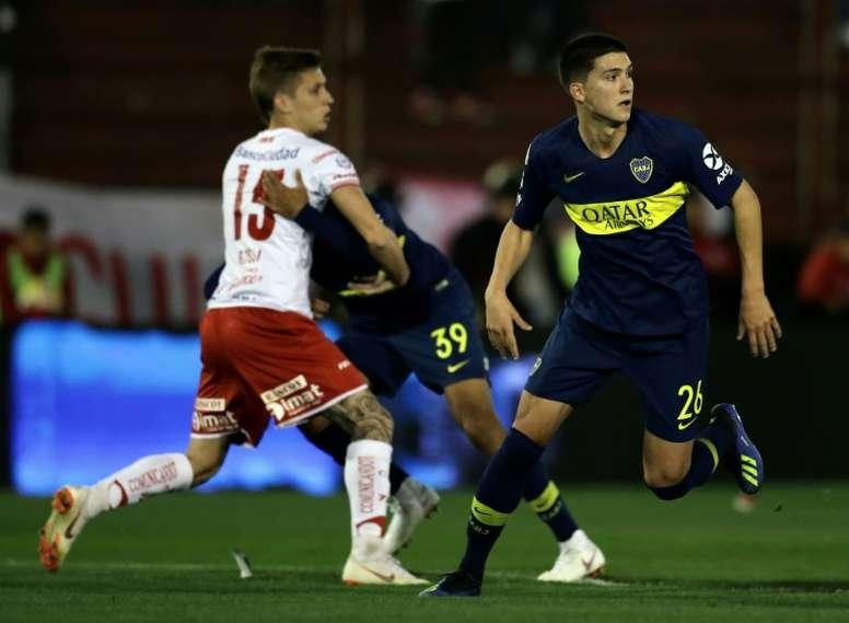 Le joueur pourrait quitter l'Argentine pour rejoindre l'Allemagne. AFP