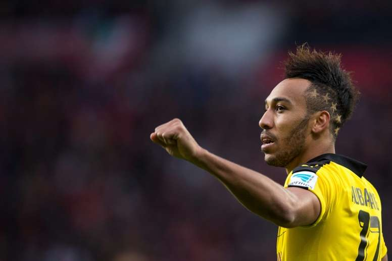 Aubameyang is still in the running to retain his African Player of the Year crown. AFP