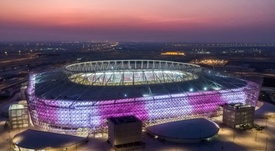 Better together? Latest Qatar World Cup stadium launches. AFP