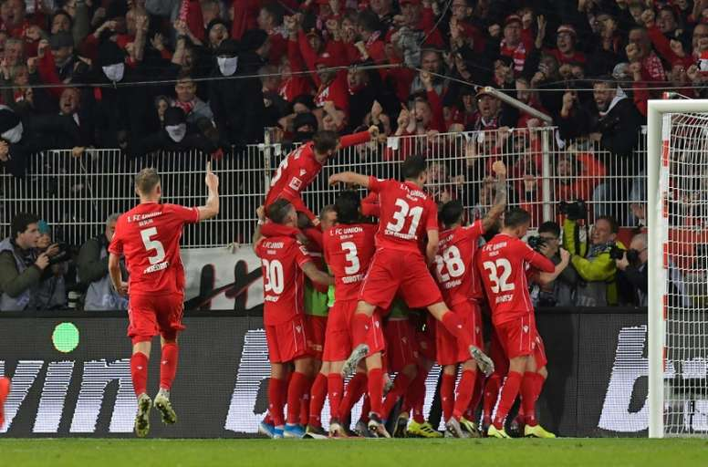 Los jugadores del Union Berlin no cobrarán mientras no jueguen. AFP/Archivo