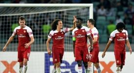 Arsenal est ravi de son milieu de terrain. AFP