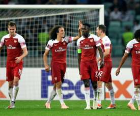 Guendouzi sealed off the win with a fine goal. AFP