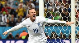 Rooney est retraité des 'Three Lions'. AFP