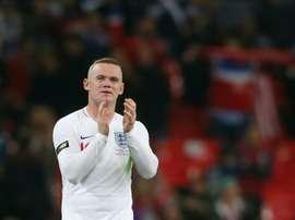 Rooney de retour en Angleterre. AFP