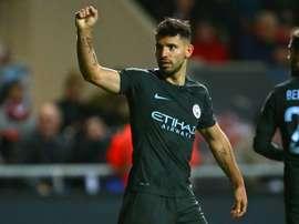 Burnley e City empataram em 1-1. AFP