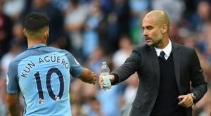 O Manchester City fará uma oferta pelo Torque de Uruguai. AFP