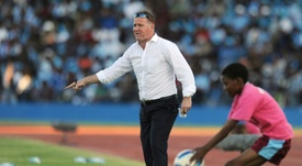 English coach Butler brings Liberia closer to the World Cup. AFP