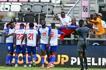 Haïti quitte la Gold Cup avec les honneurs. AFP