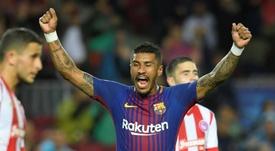 O Barça quer dinheiro. AFP