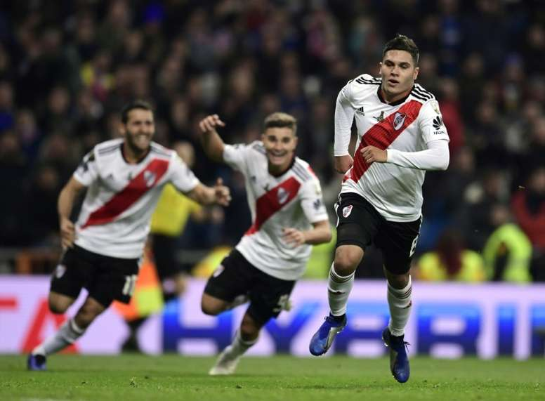 Quintero sigue en River. AFP