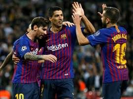 Le Barça se rend à Madrid. AFP