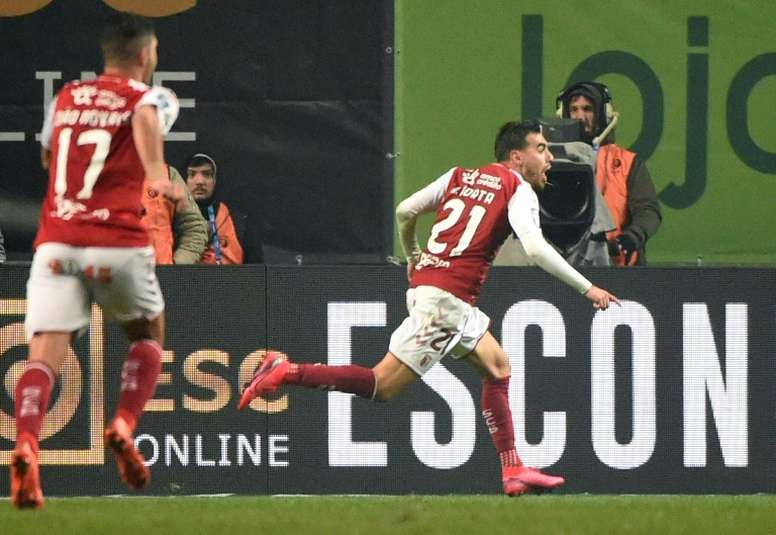 Ricardo Horta scored late winner to give Braga the Taca da Liga. AFP
