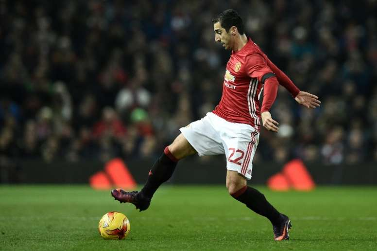 Henrikh Mkhitaryan produced an assured display against West Ham in their League Cup quarter-final, on just his third Manchester United start